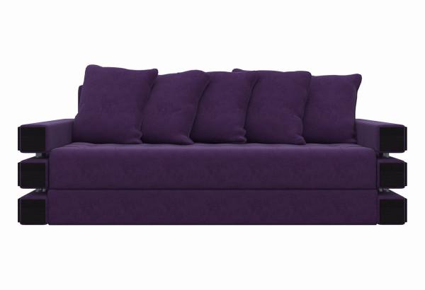 Диван прямой Венеция Фиолетовый (Микровельвет) - фото 2