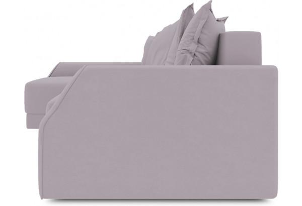 Диван угловой левый «Люксор Slim Т2» (Poseidon Pale Lavender (иск.замша) бледно-лавандовый) - фото 3