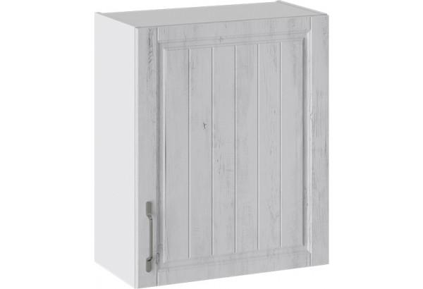 Шкаф навесной (ПРОВАНС (Белый глянец/Санторини светлый)) - фото 1
