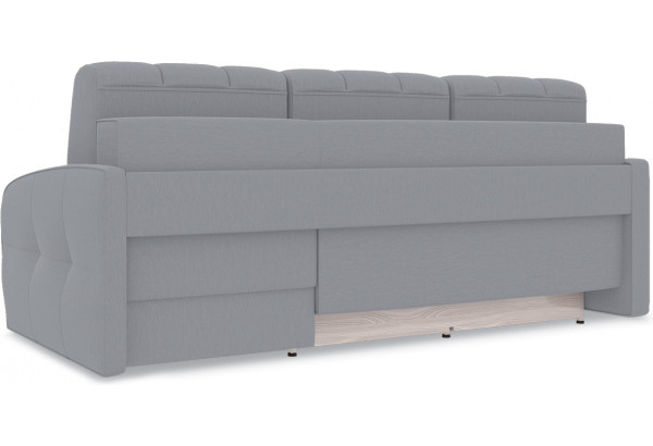 Диван угловой правый «Аспен Slim Т1» (Poseidon Grey (иск.замша) серый) - фото 5