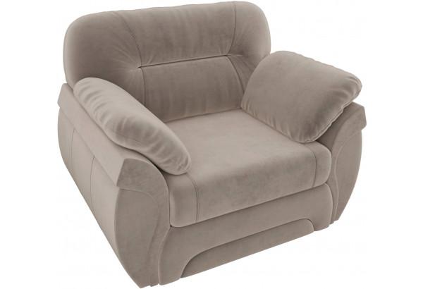 Кресло Бруклин Коричневый (Велюр) - фото 4