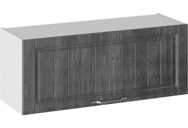 Шкаф навесной (ПРОВАНС (Белый глянец/Санторини темный)) - фото 1