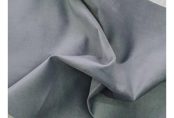 Кухонный угловой диван Тефида черный/серый (Велюр) - фото 9