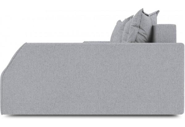 Диван угловой правый «Люксор Slim Т2» (Levis 85 (рогожка) Темно-серый) - фото 5