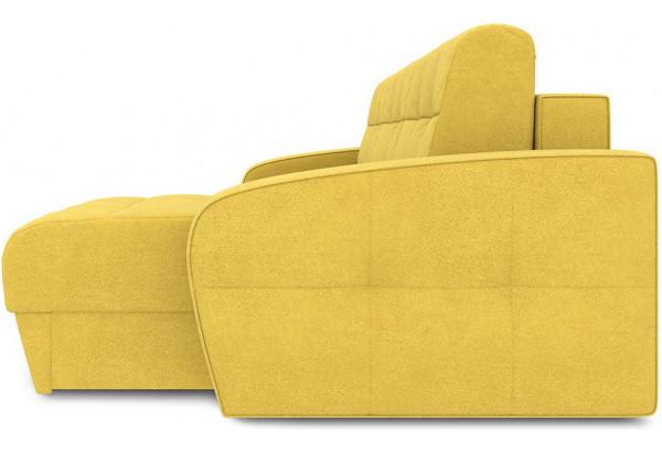 Диван угловой правый «Аспен Т1» Maserati 11 (велюр), желтый - фото 4