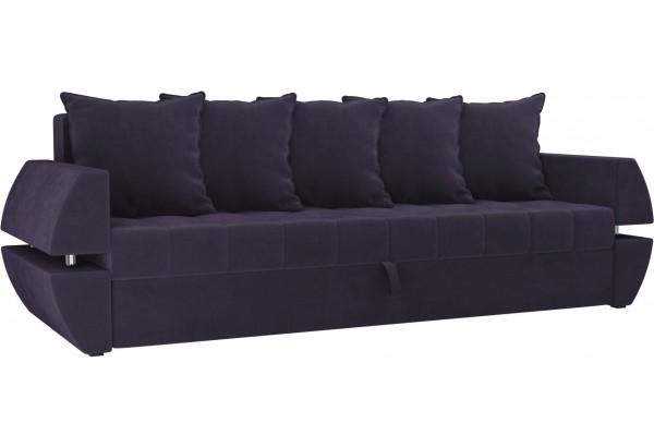 Диван прямой Атлант Т Фиолетовый (Велюр) - фото 1