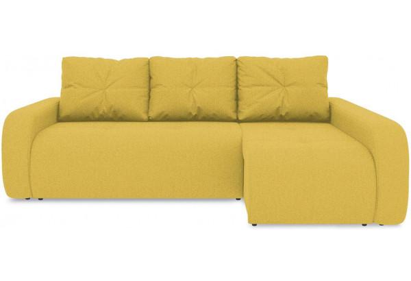 Диван угловой правый «Томас Т2» (Neo 08 (рогожка) желтый) - фото 2