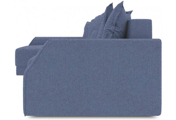Диван угловой левый «Люксор Slim Т2» (Levis 78 (рогожка) Темно-синий) - фото 3