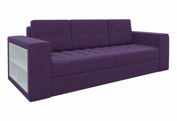 Диван прямой Пазолини Фиолетовый (Микровельвет) - фото 1