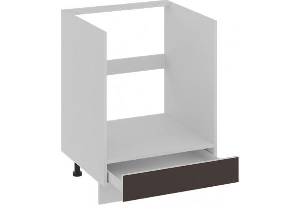 Шкаф напольный под бытовую технику с 1-м ящиком БЬЮТИ (Грэй) - фото 2