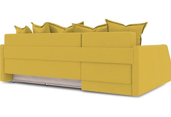 Диван угловой левый «Люксор Slim Т2» (Poseidon Curcuma (иск.замша) желтый) - фото 4