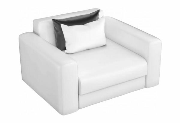 Кресло Мэдисон Белый (Экокожа) - фото 1