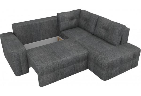 Угловой диван Леос Серый (Рогожка) - фото 5