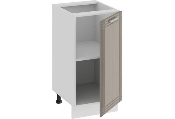 Шкаф напольный с одной дверью «Ольга» (Белый/Кремовый) - фото 2