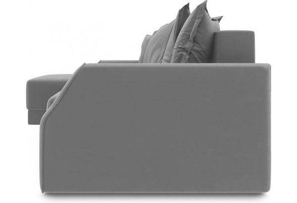 Диван угловой левый «Люксор Slim Т1» (Galaxy 02 (велюр) бежевый) - фото 3