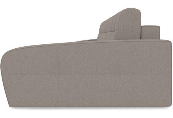 Диван угловой правый «Аспен Slim Т2» (Neo 04 (рогожка) светло-коричневый) - фото 4