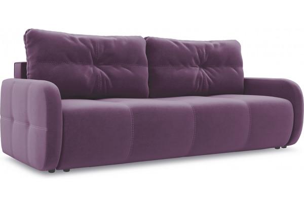 Диван «Томас Slim» Kolibri Violet (велюр) фиолетовый - фото 1