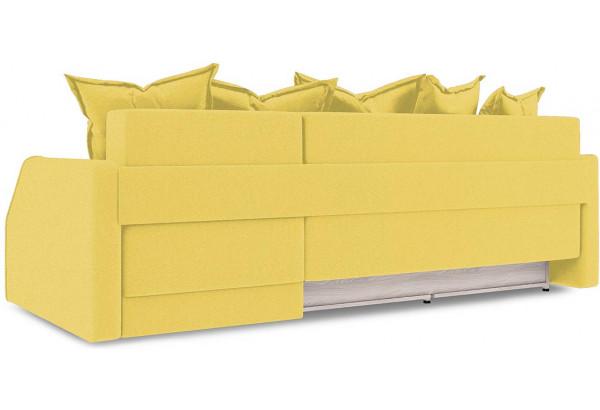 Диван угловой правый «Люксор Slim Т1» (Neo 08 (рогожка) желтый) - фото 4