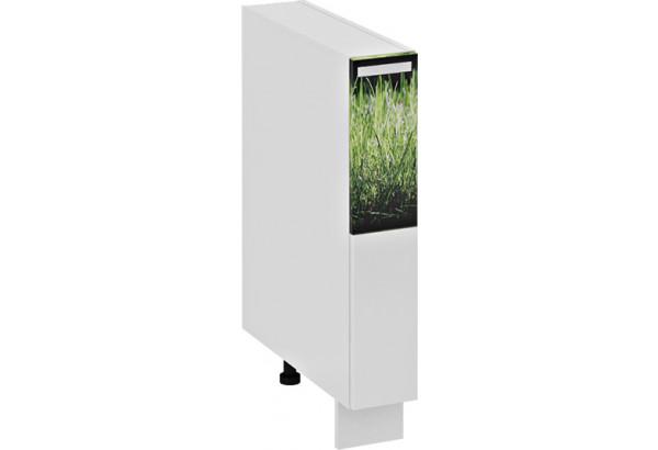 Шкаф напольный с выдвижной корзиной ФЭНТЕЗИ (Грасс) - фото 2