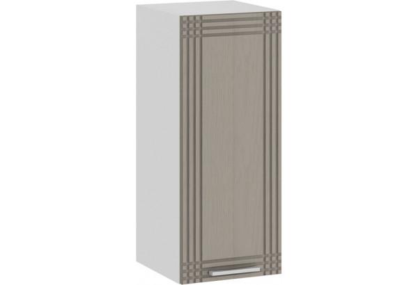 Шкаф навесной c одной дверью «Ольга» (Белый/Кремовый) - фото 1