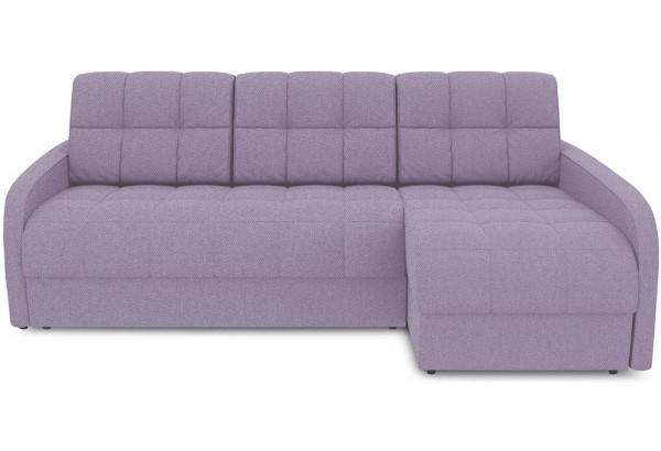 Диван угловой правый «Аспен Slim Т2» (Neo 09 (рогожка) фиолетовый) - фото 2