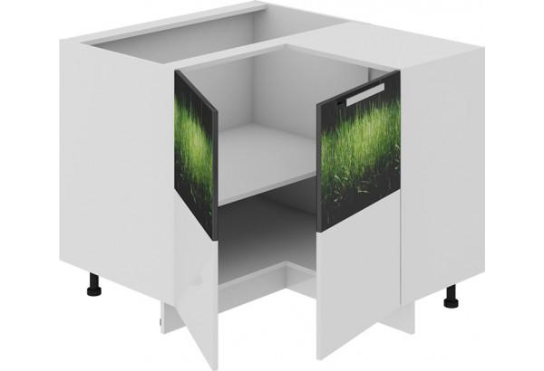 Шкаф напольный нестандартный угловой с углом 90° ФЭНТЕЗИ (Грасс) - фото 1