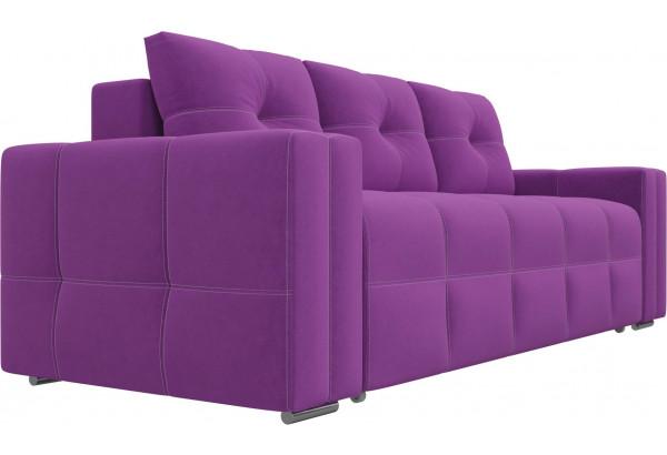 Диван прямой Леос Фиолетовый (Микровельвет) - фото 3