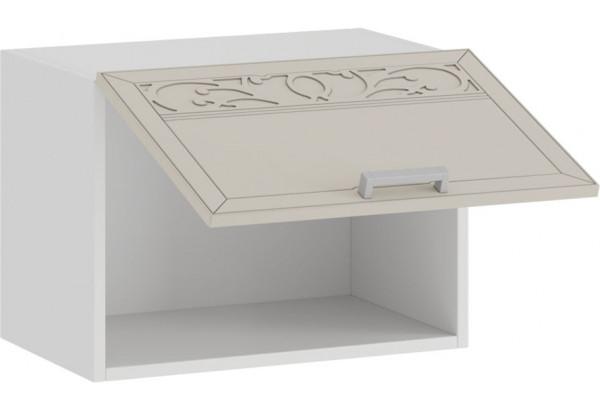Шкаф навесной c одной откидной дверью «Долорес» (Белый/Крем) - фото 2