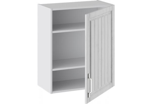 Шкаф навесной (ПРОВАНС (Белый глянец/Санторини светлый)) - фото 2