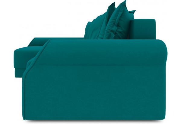 Диван угловой левый «Люксор Т2» Beauty 06 (велюр) изумрудный - фото 3