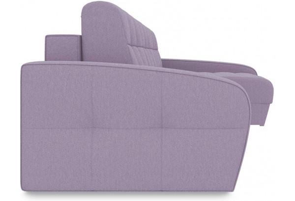 Диван угловой правый «Аспен Slim Т2» (Neo 09 (рогожка) фиолетовый) - фото 3