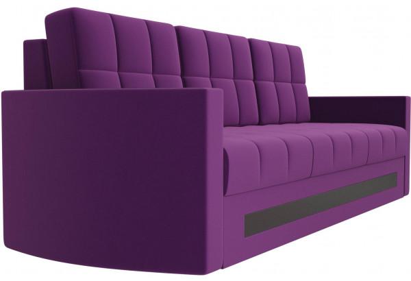 Диван прямой Белла Фиолетовый (Микровельвет) - фото 3