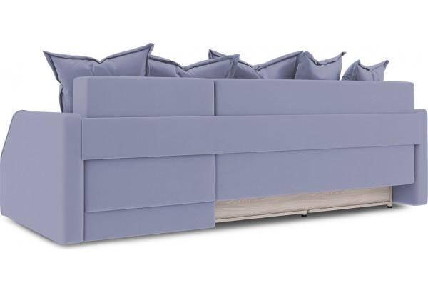 Диван угловой правый «Люксор Slim Т1» (Poseidon Blue Graphite (иск.замша) серо-фиолетовый) - фото 4