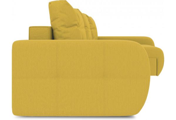 Диван угловой правый «Томас Slim Т2» (Poseidon Curcuma (иск.замша) желтый) - фото 3