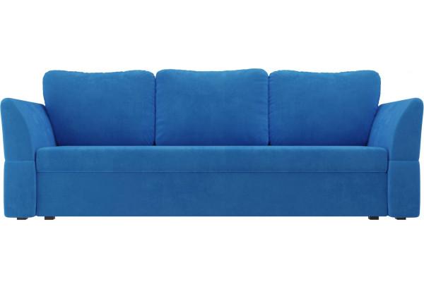 Диван прямой Гесен Голубой (Велюр) - фото 2