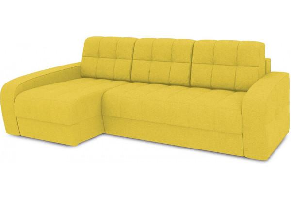Диван угловой левый «Аспен Т2» (Neo 08 (рогожка) желтый) - фото 1