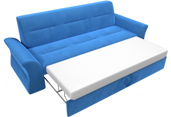 Прямой диван Клайд Голубой (Велюр) - фото 7
