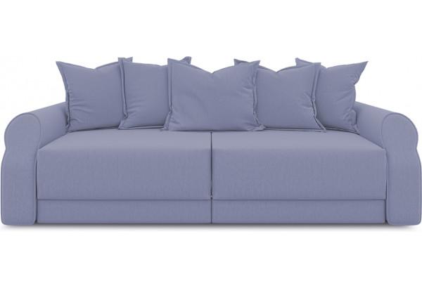 Диван «Люксор» (Poseidon Blue Graphite (иск.замша) серо-фиолетовый) - фото 2