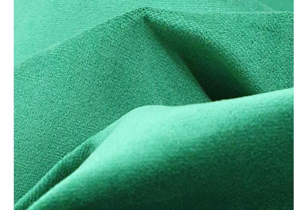 Кухонный прямой диван Династия бежевый/зеленый (Велюр) - фото 6