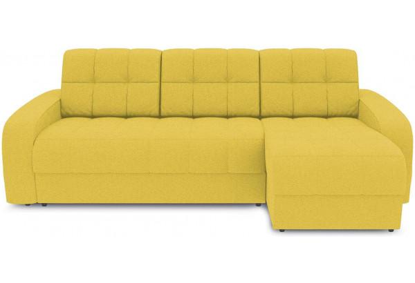 Диван угловой правый «Аспен Т1» (Neo 08 (рогожка) желтый) - фото 2