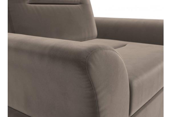 Кресло Клайд Коричневый (Велюр) - фото 4