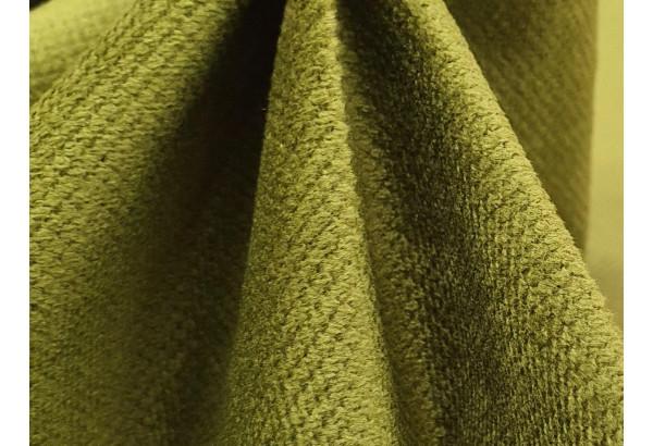Кухонный прямой диван Кармен бежевый/зеленый (Микровельвет) - фото 5