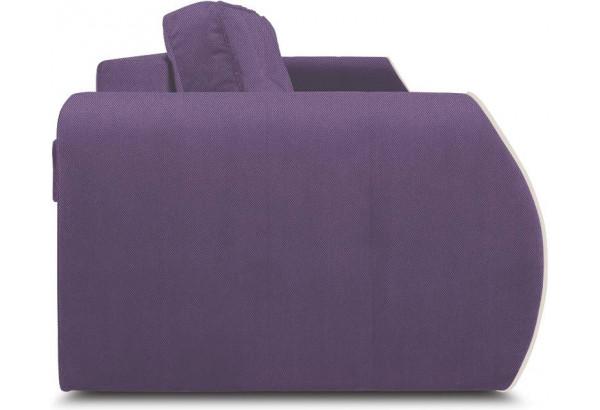 Диван «Хьюго» (Favo 67 (велюр) Фиолетовый кант Beauty 02 (велюр), капучино) - фото 3