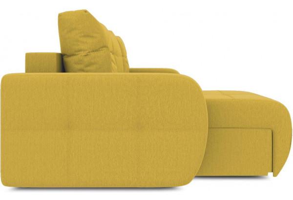 Диван угловой левый «Томас Т1» (Poseidon Curcuma (иск.замша) желтый) - фото 5