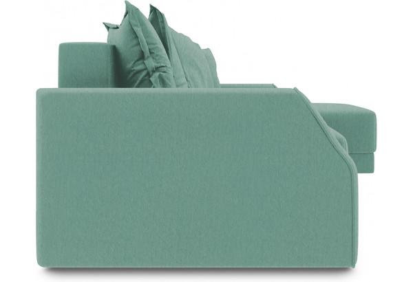 Диван угловой правый «Люксор Slim Т1» (Kolibri Aqva (велюр) бирюзовый) - фото 3