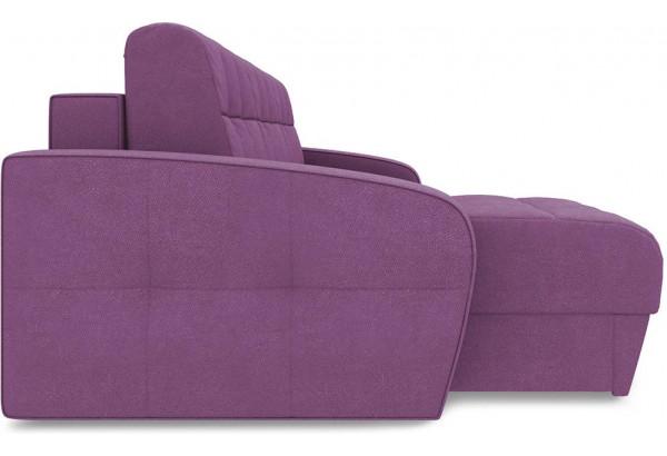 Диван угловой левый «Аспен Slim Т1» (Maserati 18 (велюр) фиолетовый) - фото 4