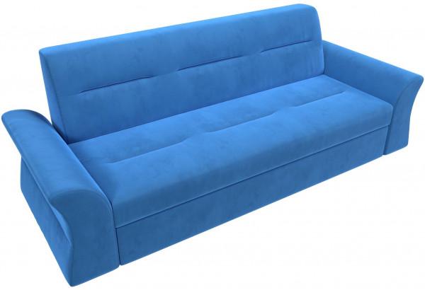 Прямой диван Клайд Голубой (Велюр) - фото 6