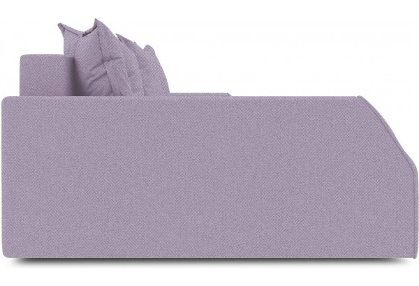 Диван угловой левый «Люксор Slim Т2» (Neo 09 (рогожка) фиолетовый) - фото 5