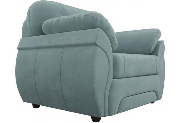 Кресло Бруклин бирюзовый (Велюр) - фото 3