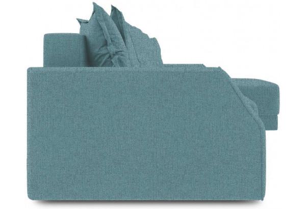Диван угловой правый «Люксор Slim Т1» (Levis 74 (рогожка) Изумрудный) - фото 3